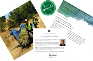 State of California Governor's Environmental & Economic Leadership Award